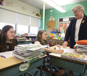 Dundalk educator honored for decades of dedication ...