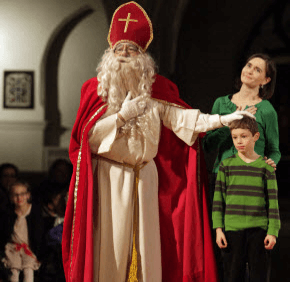 Catholic All Year Not Believing in Santa Claus is Like