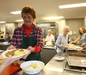 Golden Rule guides soup kitchen in silver anniversary | Archdiocese ...