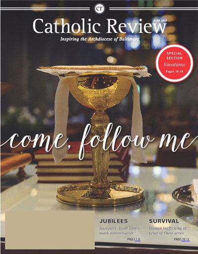 Catholic Review June 2017 cover