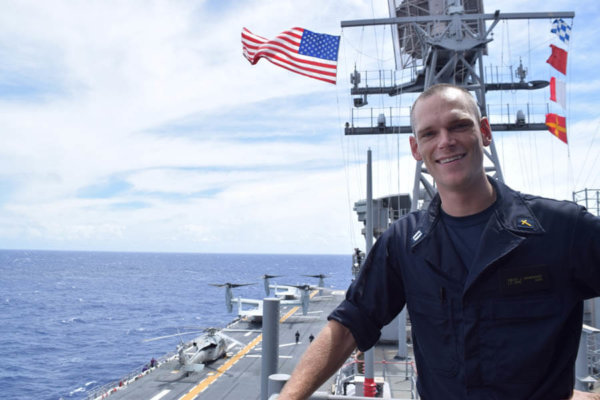 Navy chaplain