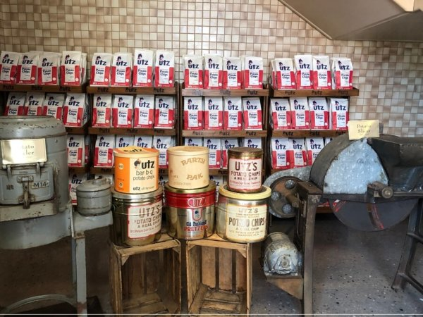 A day trip from Baltimore: Our first time on Utz's factory