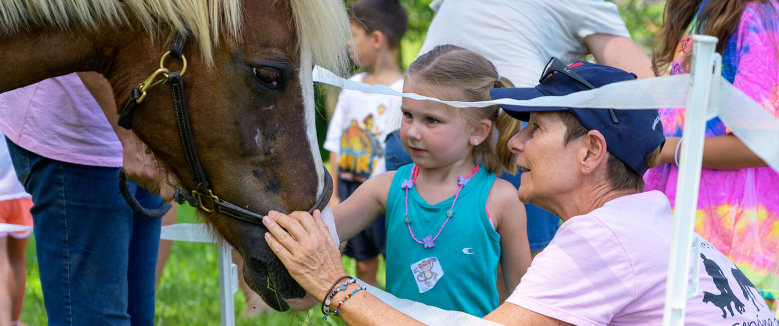 Vacation Bible school: No lions, tigers and bears, but horses, games