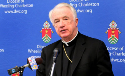 Bishop Michael J. Bransfield of Wheeling-Charleston, W.Va., is seen in this 2012 file photo.