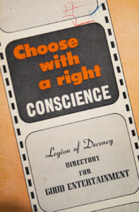 This is the cover of a directory of film ratings offered by the National Legion of Decency. (CNS photo/Chaz Muth)