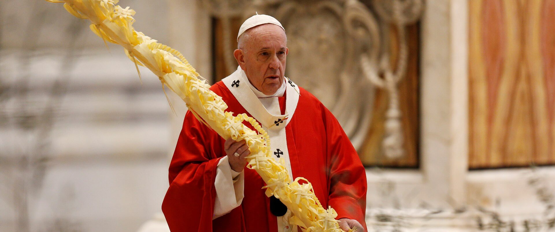 Pope on Palm Sunday: Life, measured by love, is meant to serve others   Archdiocese of Baltimore